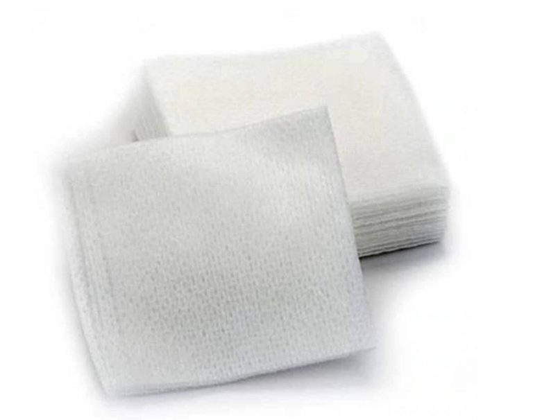 gauze to stop bleeding after a dental extraction
